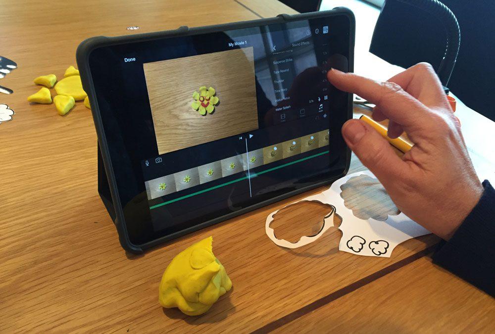 Animating with an iPad using Smoovie